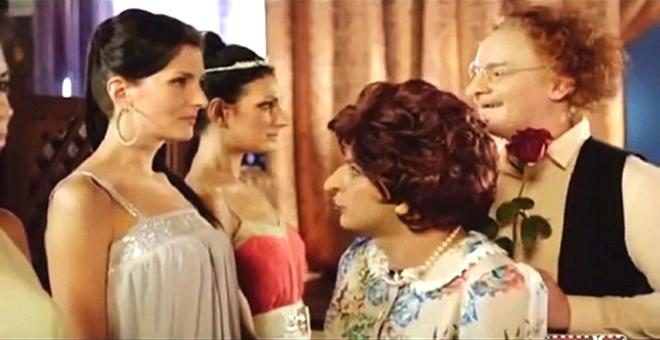 Еврейская мама подбирает сыну невесту. Зал буквально утопал в слезах от смеха