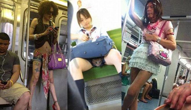 Чумовая подборка от которой можно офигеть!  Кто был в метро, тот в цирке…