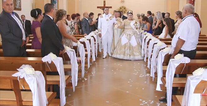 Дождь из евро и золота! Эту цыганскую свадьбу Все еще долго будут вспоминать
