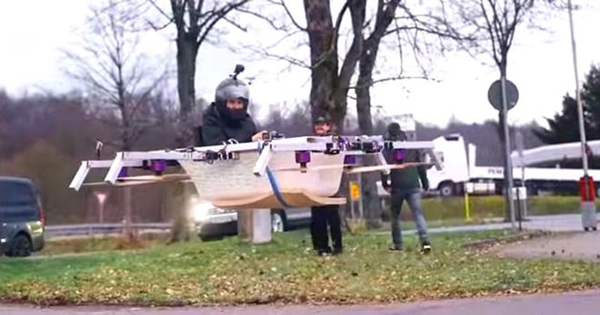 Увидав этот «летательный аппарат» из ванны, жители немецкого городка чуть не лишились дара речи!
