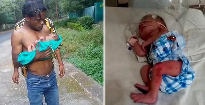 Малышку нашли утром в мусорном баке, полностью покрытую муравьями. А всё потому, что она родилась не мальчиком. На теле девочки — побои и…