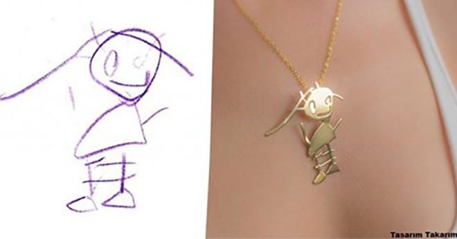 Турецкая Ювелирная Компания Делает Украшения По Детским Рисункам
