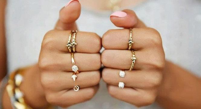 Ювелирный этикет ношения колец. Сколько колец стоит носить женщине?