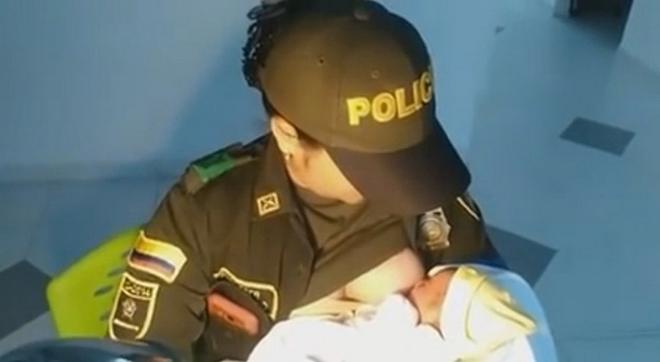 Найденный в лесу младенец кричал от голода… Полицейская пришла на помощь крохе не раздумывая!