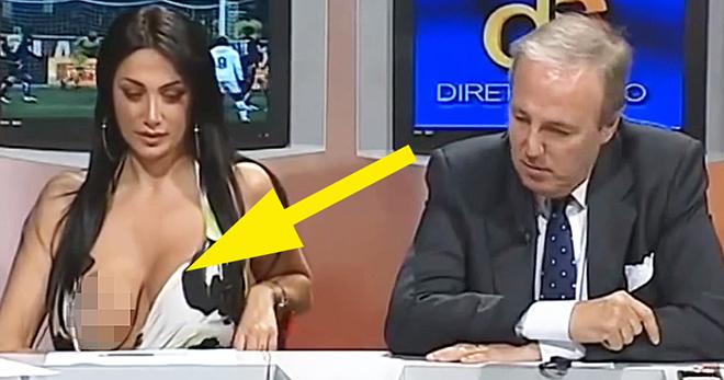 удобства оргазм телеведущих в прямом эфире общительный нрав свекрови