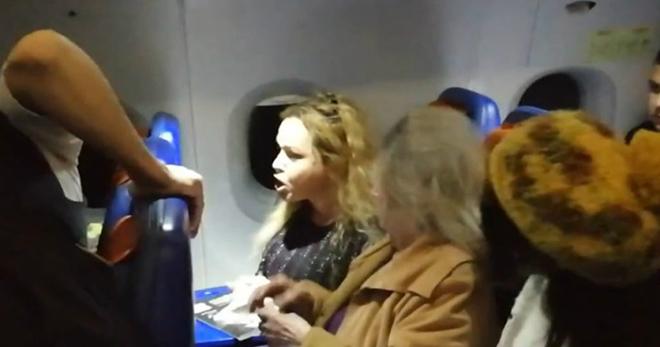 «Жена депутата» устроила дебош на рейсе из Москвы из-за откинутого кресла