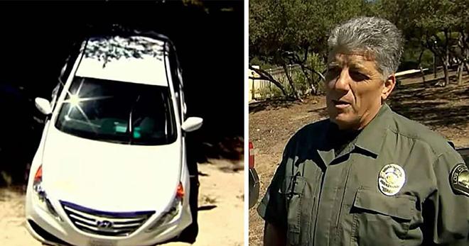 Спустя две недели полицейские находят в пустыне заброшенную машину — открывают дверь и обнаруживают настоящее чудо