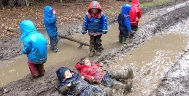 10 фотографий детей, у которых прогулка удалась на славу