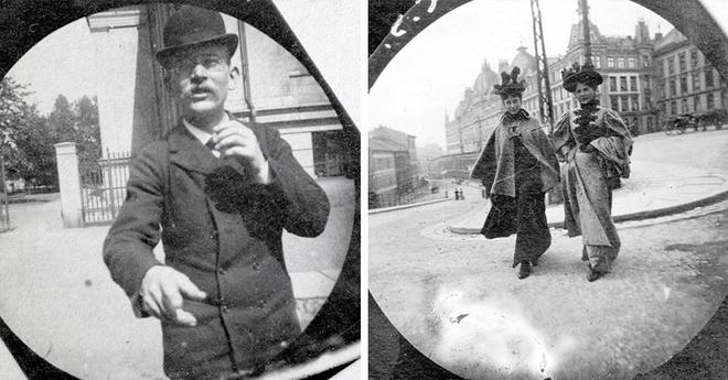 Эти снимки были сделаны 19-летним учёным скрытой камерой ещё в 1890-х годах