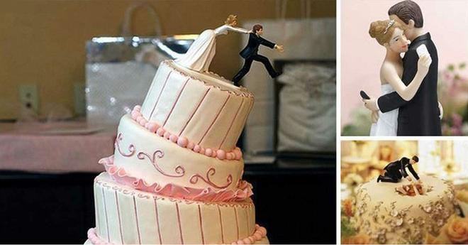 Свадебные торты, креативность и оригинальность которых просто зашкаливает