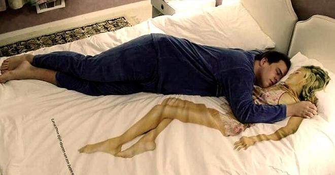Существует мнение, что супругам лучше всего спать отдельно друг от друга