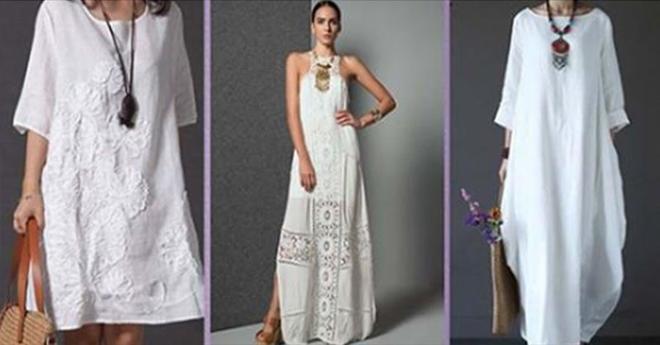 Пригодится следующим летом: весьма интересная белая одежда в стиле Бохо