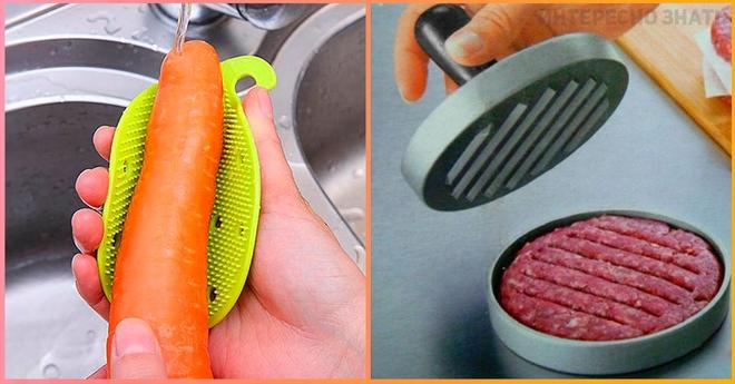Несколько классных приспособлений для кухни, которые здорово упростят процесс готовки