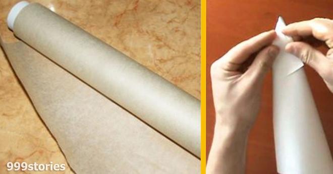 Самая обычная пергаментная бумага способна на многое. Опытные кондитеры рекомендуют