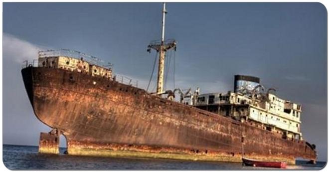 Спустя 90 лет, корабль, пропавший в Бермудском треугольнике, вернулся обратно