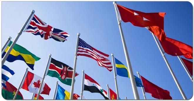 Почему же этого цвета нет ни на одном государственном флаге