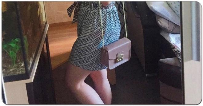 Девушка подумала, что это шорты, даже не подозревая, чем именно они окажутся