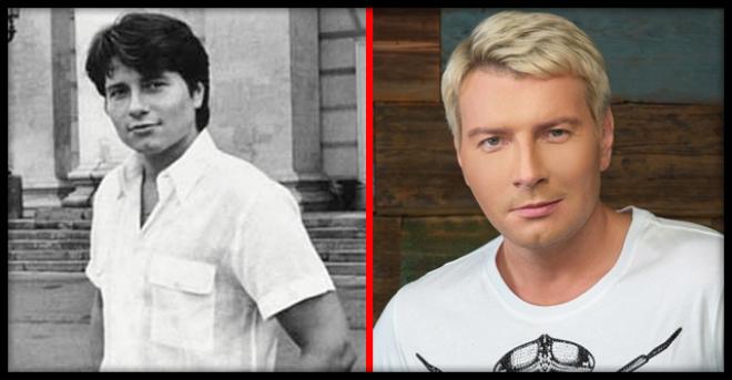 «Черные волосы, как уголь» в сеть попали старые фото «натурального блондина» Баскова