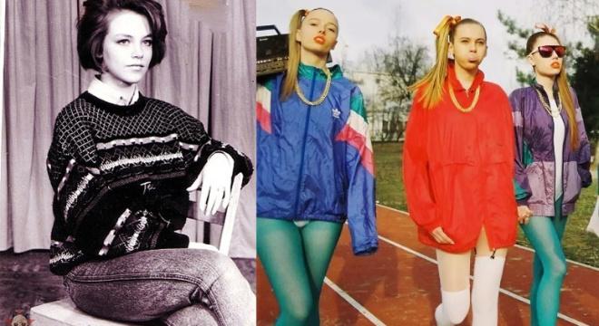 Окунемся в эпоху необузданной моды 90-х (14 фото)