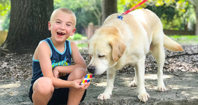 Ребенок года: 7-летний мальчик спас 1300 собак