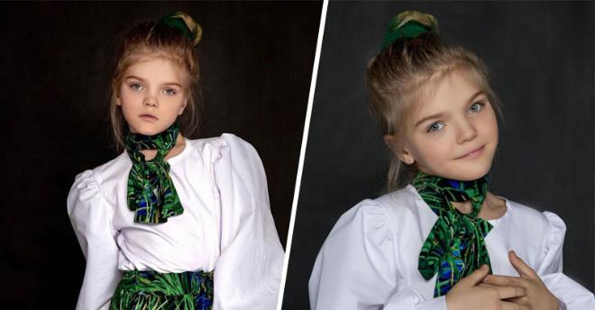 Маленькая девочка из детского дома, которая стала популярной моделью