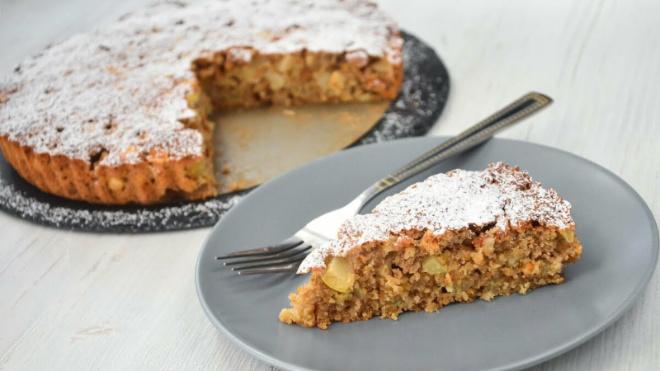 Пирог из яблок и овсянки — сказочно вкусный! Можно готовить хоть каждый день!