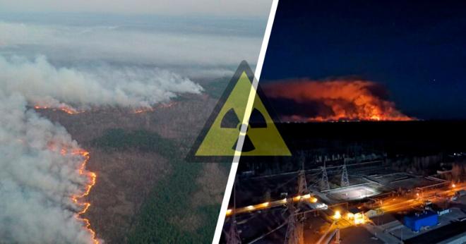 Пожары в Чернобыле, загрязненный Киев и опасность для России: Ждать ли экологическую катастрофу?