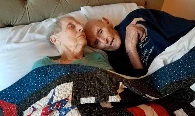 Они прожили в браке 70 лет, прошли через Вторую Мировую, и умерли с разницей в 14 часов