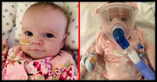 В Британии 6-месячная малышка со слабым здоровьем победила коронавирус