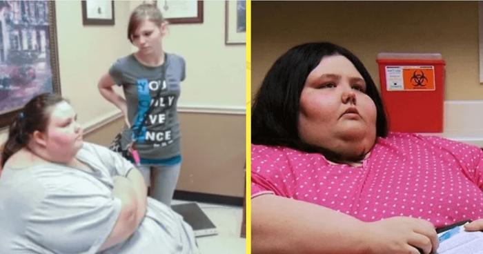 За два года девушка сумела похудеть с 320 кг до 80-ти, и стала красоткой