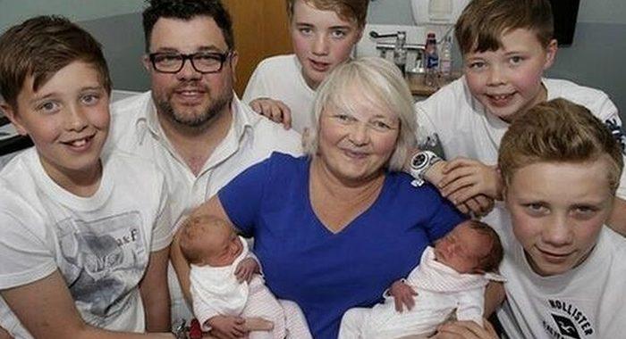 Удивительная семья, в которой три пары близнецов