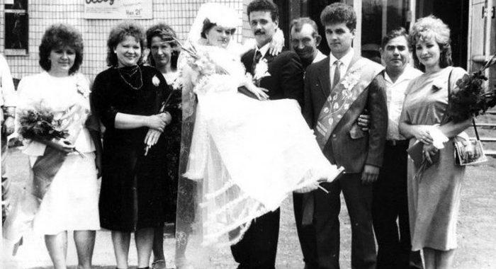 Подборка свадебных фотографий из прошлого