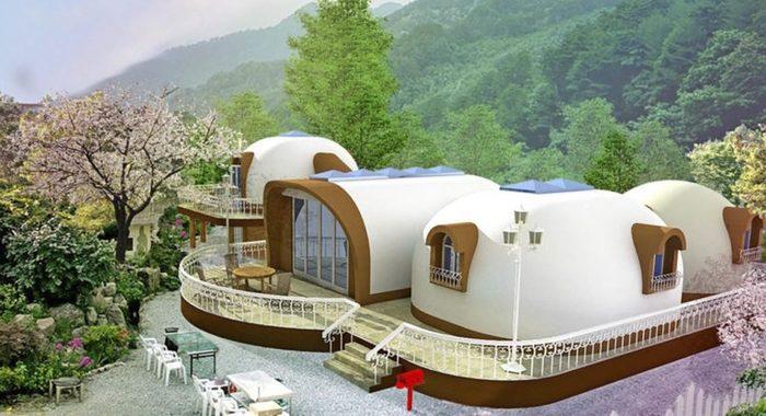 Японские дома из пенопласта, что это за чудо технологии?