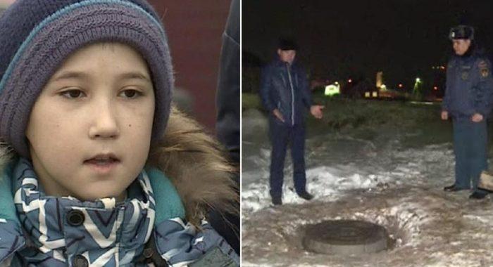 Волонтер случайно провалилась в колодец и спасла пропавшего мальчика