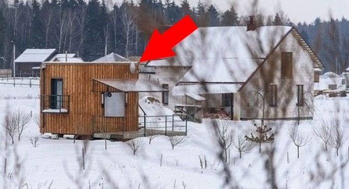 Спичечный коробок в котором можно жить: мужчина построил дом 4х4, чтобы не скитаться по съемным