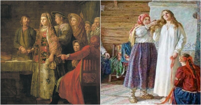 Как на Руси обманывали женихов, чтобы выдать девушку замуж