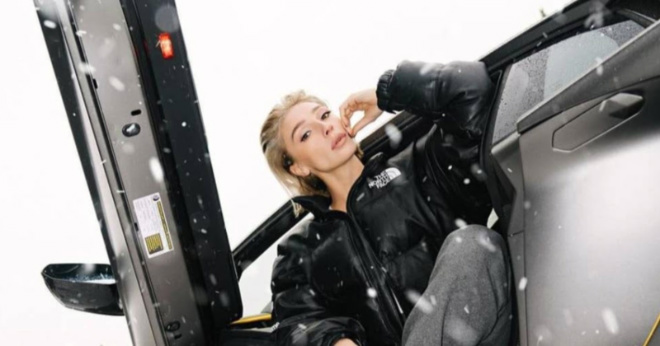 Ивлеева лишилась своего Lamborghini из-за штрафов