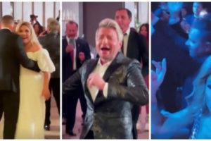 Федункив с размахом отметила свадьбу с итальянцем в колье за 18 миллионов