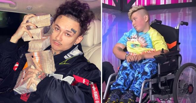 Моргенштерн подарил тяжелобольному 15-летнему фанату инвалидную коляску