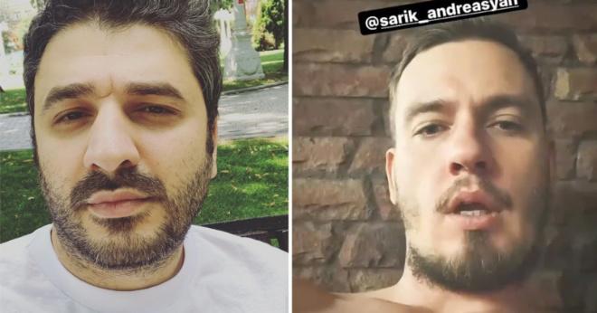 Сарик Андреасян ответил мужу Кудрявцевой, который «забил стрелку»
